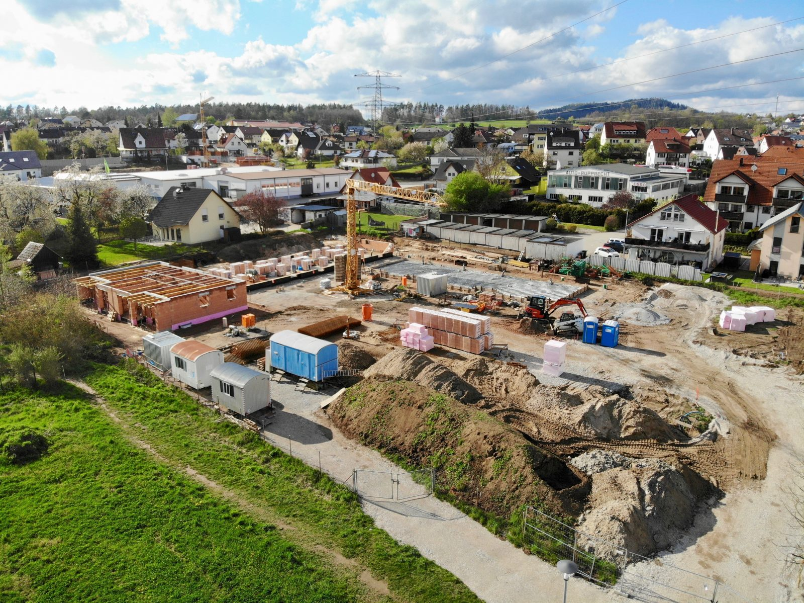 Baustelle Ulmenhof Juni 2021